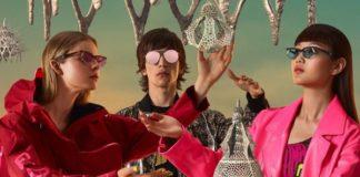 Une publicité des lunettes Fendi Gentle N°1 et Fendi Gentle N°2