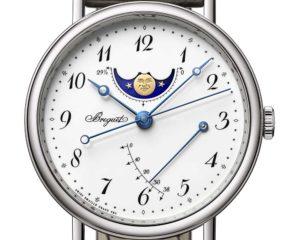 Une montre Classique 7787 en or blanc, Breguet