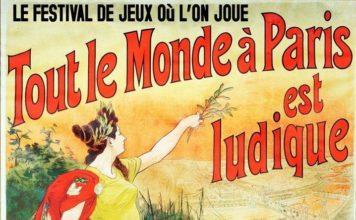 Affiche officielle de Paris est ludique