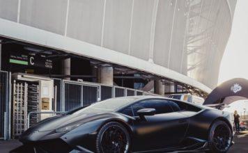 Une Lamborghini photographiée en juillet 2019