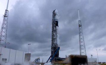 Le vaisseau spatial Falcon 9 de Swiss Space Tourism