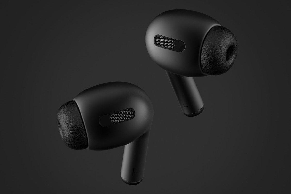 Les AirPods Pro d'Apple dans la teinte noire