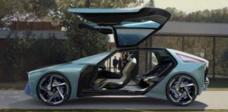 Une modélisation du Lexus LF-30 dans un environnement