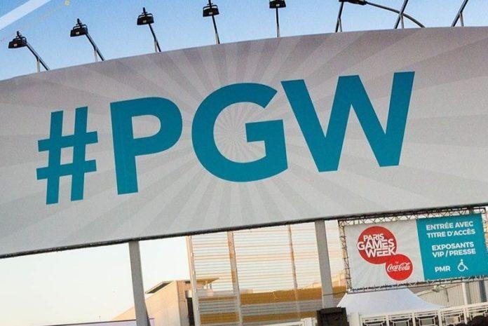 A l'entrée du Paris Games Week