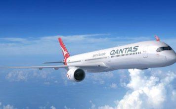 Un avion de Qantas, la compagnie aérienne la plus sure au monde en 2019.