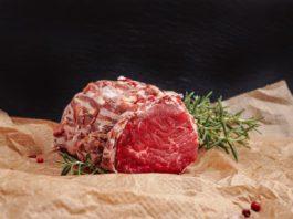 Un morceau de viande fraïche.