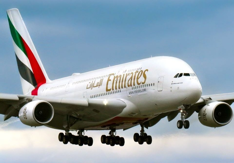 Un avion de la compagnie Emirates.
