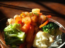Un plat végétarien (Photo : Unplash).